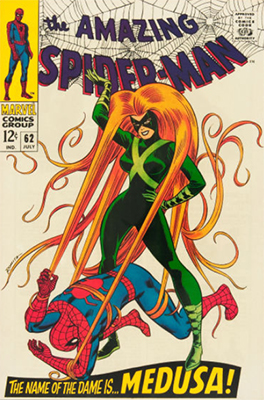 Click here to check the value of Amazing Spider-Man #62