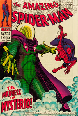 Click here to check the value of Amazing Spider-Man #66