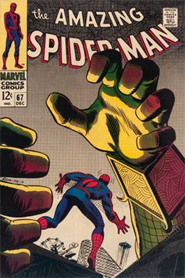 Click here to check the value of Amazing Spider-Man #67