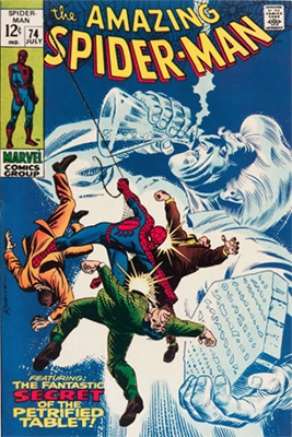 Click here to check the value of Amazing Spider-Man #74