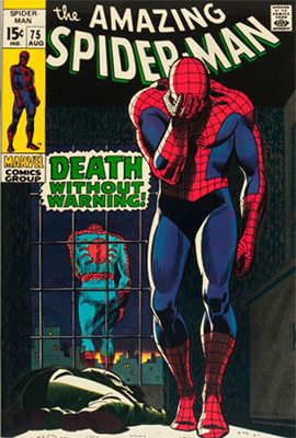 Click here to check the value of Amazing Spider-Man #75