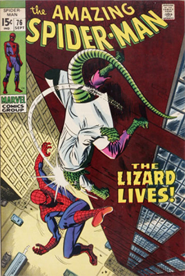Click here to check the value of Amazing Spider-Man #76