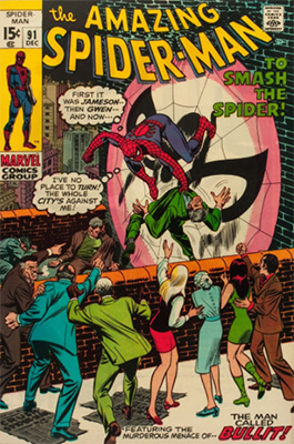 Click here to find out the values of Amazing Spider-Man issue #91