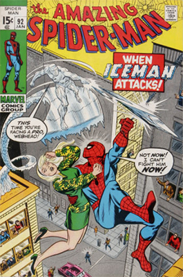 Click here to find out the values of Amazing Spider-Man issue #92