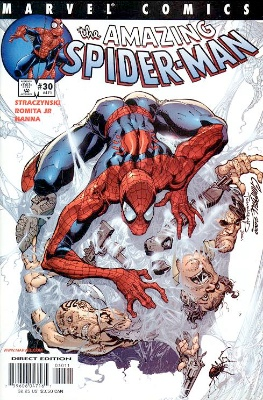 Origin and First Appearance, Morlun, Amazing Spider-Man (vol. 2) #30, Marvel Comics, 2001. Click for value