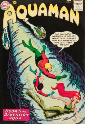 Aquaman #11: First appearance of Mera. Click for value