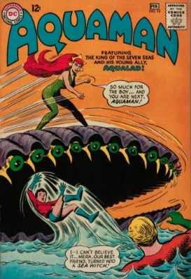Aquaman #13: Invasion of the Giant Reptiles. Click for value