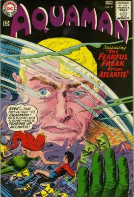 Origin and First Appearance, Fisherman, Aquaman #21, DC Comics, 1965. Click for value