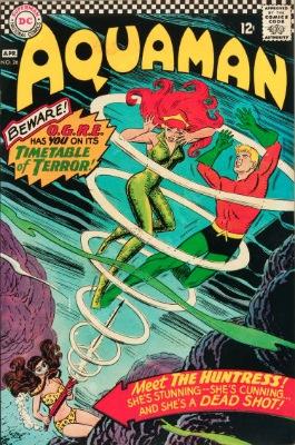 Origin and First Appearance, O.G.R.E., Aquaman #26, DC Comics, 1976. Click for value