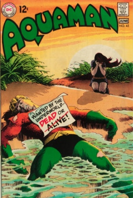 Aquaman #45: Underworld Reward, Part 2. Click for value