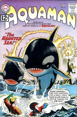 Aquaman Issue #5: The Haunted Sea. Click for values