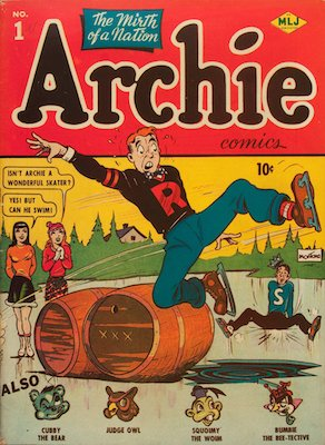Archie Comics #1. Click for current values.