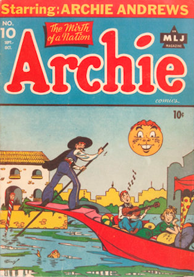 Archie Comics #10. Click for current values.