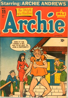 Archie Comics #11. Click for current values.