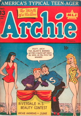 Archie Comics #13. Click for current values.