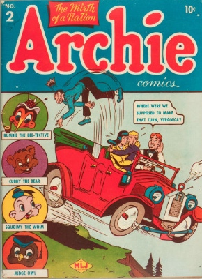 Archie Comics #2. Scarce in any condition. Click for values
