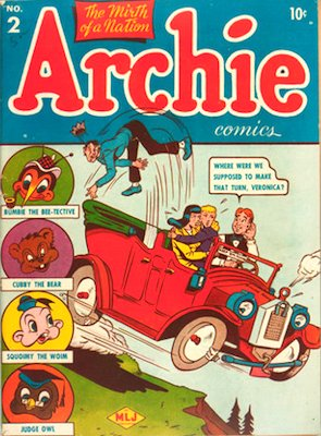Archie Comics #2. Click for current values.
