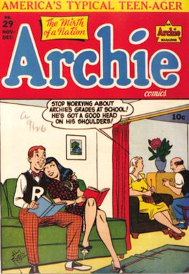 Archie Comics #29. Click for current values.