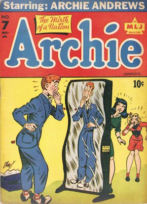 Archie Comics #7. Click for current values.