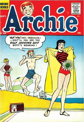 Archie Comics #95. Click for current values.