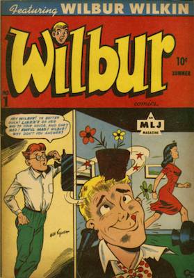 Archie Comics Spin-Off: Wilbur #1. Click for value