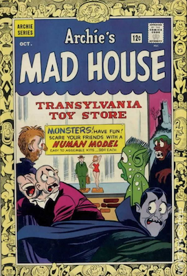 Archie's Madhouse #36: First Salem the Cat. Click for value