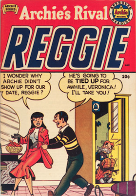 Archie's Rival Reggie #1 (1949). Click for values