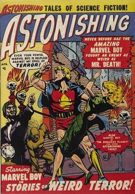Astonishing #3 (1951): First issue of the series. Click for value