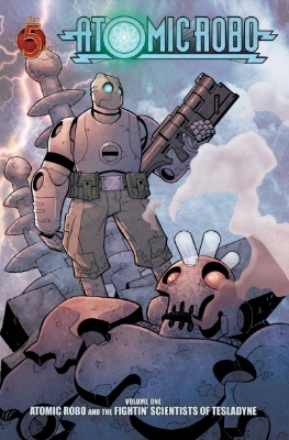 Origin and First Appearance, Atomic Robo, Atomic Robo #1, Red 5 Comics, 2007. Click for value