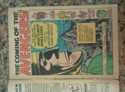 Avengers #1 Value? inside front cover