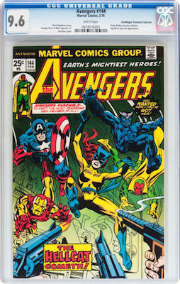 Avengers #144 is best collected in CGC 9.6. If you can find a 9.8, that is an even better buy, but they are rare. Click to buy a copy