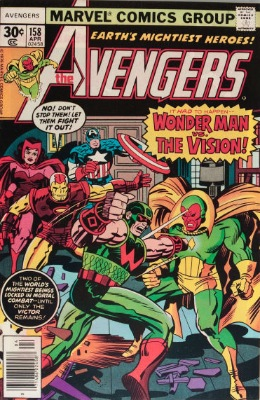 Origin and First Appearance, Graviton, Avengers #158, Marvel Comics, 1977. Click for value
