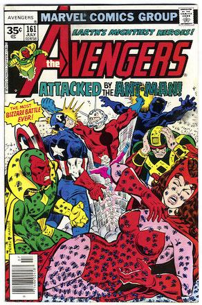 Avengers #161 Marvel 35c Price Variant