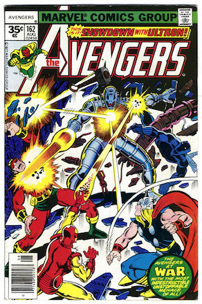 Avengers #162 Marvel 35 Cent Price Variant