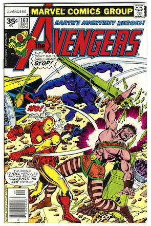 Avengers #163 Marvel 35 Cent Price Variant