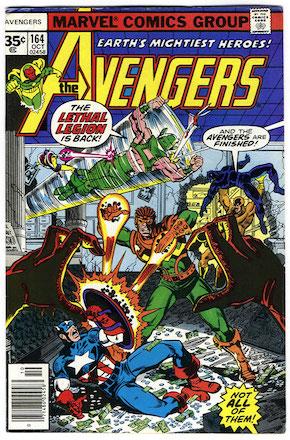 Avengers #164 35 Cent Price Variant