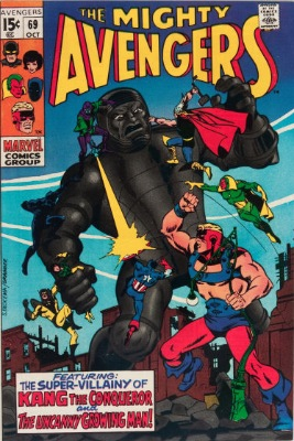 Origin and First Appearance, Doctor Spectrum, Avengers #69, Marvel Comics, 1969. Click for value