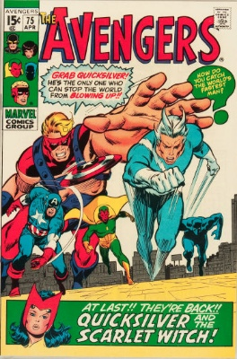 Origin and First Appearance, Arkon, Avengers #75, Marvel Comics, 1970. Click for value