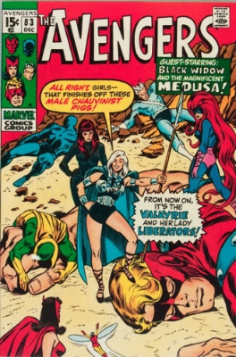 First Appearance, Valkyrie, The Avengers #83, Marvel Comics, 1970. Click for value