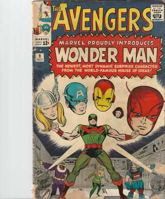 Avengers #9 Value? In this shape, not a lot