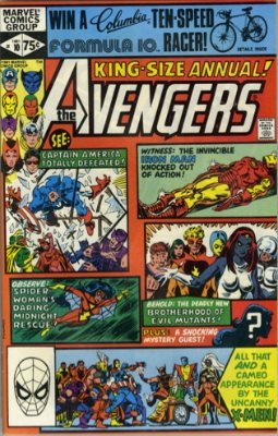 Undoing of Marcus Story, Avengers Annual #10 1981. Click for value