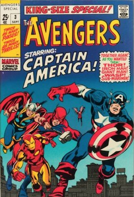 Avengers Comic Annual 3. Click for value