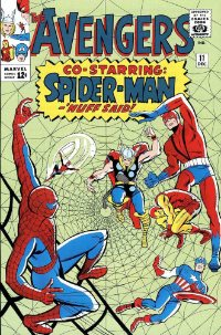 Avengers comic #11: Spider-Man cover and story