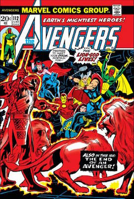 Avengers #112, 1st Mantis. Click for values