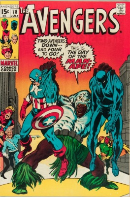 Origin and First Appearance, Lethal Legion, Avengers #78, Marvel Comics, 1970. Click for value