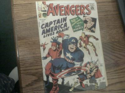 Avengers Golden Record Reprint Marvel Comics
