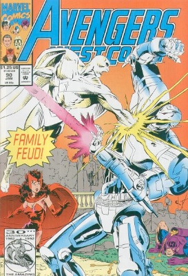 Origin and First Appearance, Alkhema, Avengers West Coast #90, Marvel Comics 1993. Click for appraisal