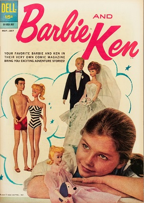 Barbie and Ken #1: First issue of a short-lived series. Click for value