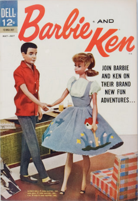 Barbie and Ken Comic #3. Click for values