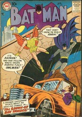 Na na na na na na na na na na na na na... OWLman?! Click for value of Batman #107